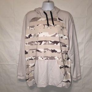Nike Dri - Fit Men's Camo camouflage hoodie 2XL